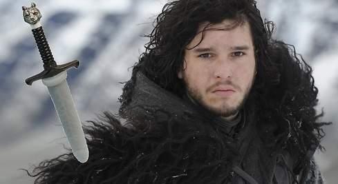 La espada de Jon Nieve (Juego de Tronos) se convierte en vibrador