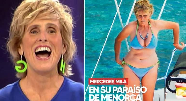 Texas interview mercedes mila en bikini complete