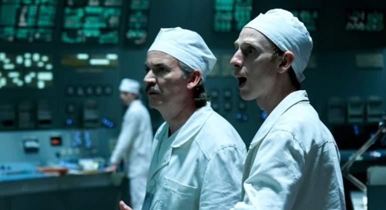 Actores de la Chernobyl, la miniserie