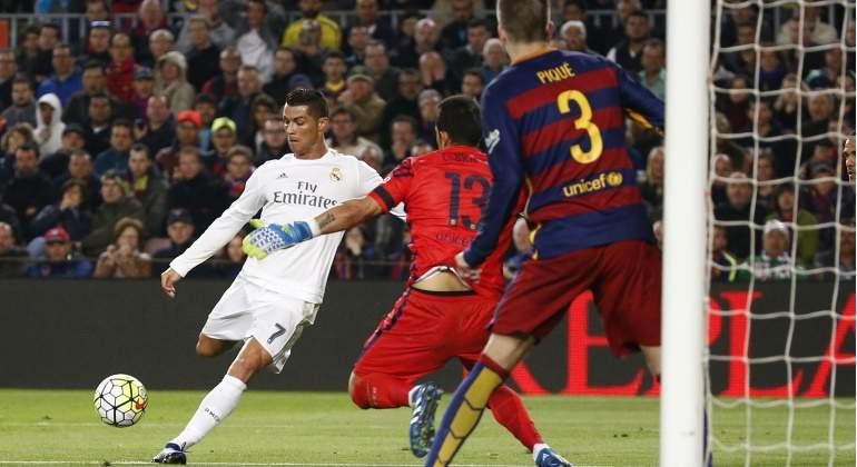 Cristiano Ronaldo es el 'rey' del Camp Nou - EcoDiario.es
