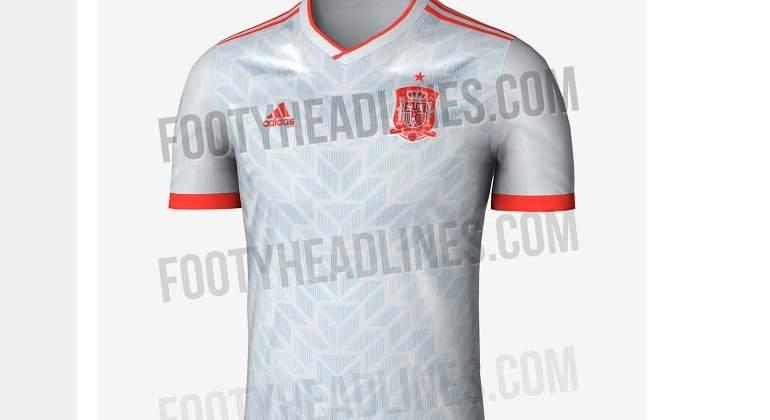 4dc6ff57ec1d3 Desvelan la segunda camiseta de España en el Mundial de Rusia ...