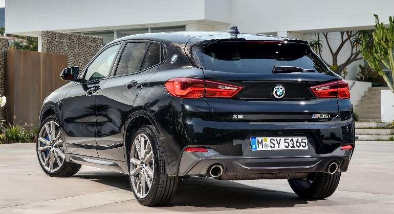 bmw x2 m35i la versi n tope de gama del suv compacto. Black Bedroom Furniture Sets. Home Design Ideas