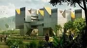 Infografa que muestra el futuro Museo Nacional de la Memoria en Colombia a cargo de OHL