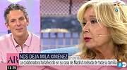 Joaquín Prat anuncia la muerte de Mila Ximénez en Telecinco: Nos hemos quedado huérfanos