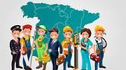 La lista de profesiones que tienen pleno empleo por Comunidades Autónomas