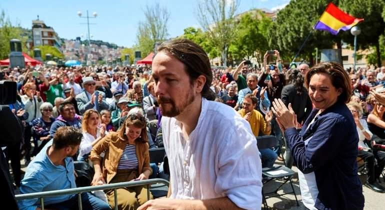 """Pablo Iglesias dice que una """"democracia digna"""" no acepta limosnas de Amancio Ortega"""