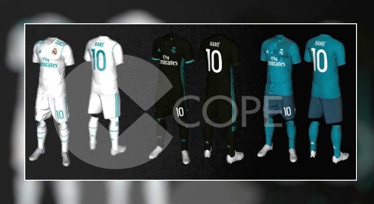 f59ec37ba5d6c Así serán las camisetas del Real Madrid para la temporada 2017-2018   blanca-verde