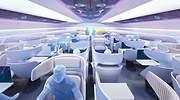Cabinas retráctiles, un spa o cubiertos comestibles: así se premia el futuro de la aviación