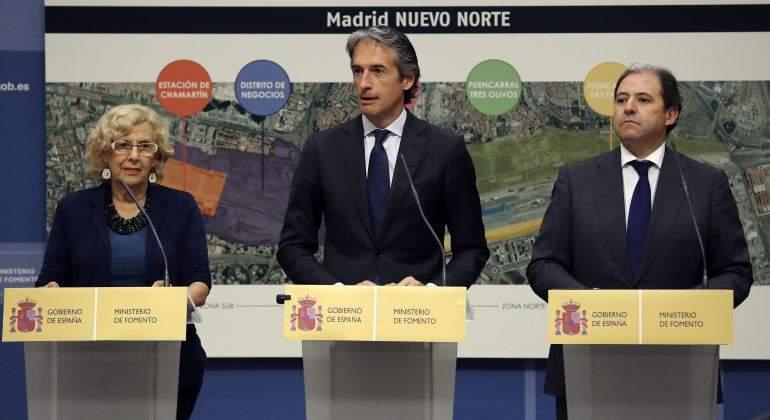 El consenso en 39 madrid nuevo norte 39 lleva a cumplir los for Serna v portales