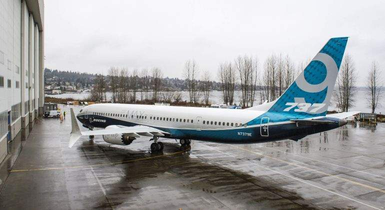 Aerolíneas bautizó su segundo Boeing 737-800 Max en Mar del Plata