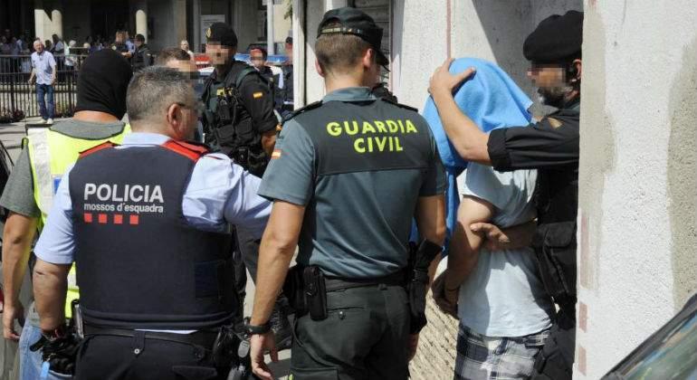 Tabla salarial de Policía, Mossos...