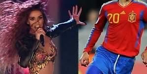 Eleni, favorita en Eurovisión, sale con un jugador español
