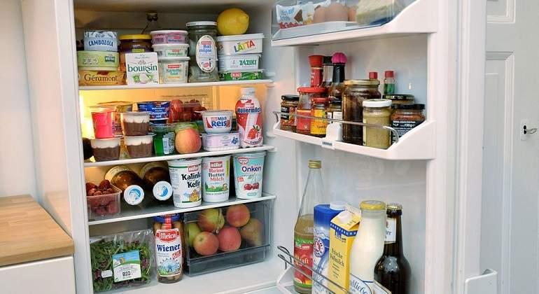 que parte del refrigerador es mas fria