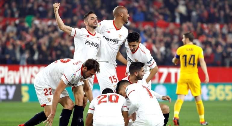 El Sevilla vuelve a someter al Atlético