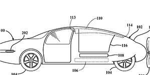 Toyota patenta el diseño de un coche volador