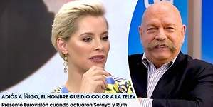 El lapsus de Soraya con José María Íñigo: no comentó su Eurovisión
