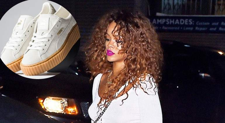 Rihanna: 'bota de oro' por sus zapas para Puma Informalia.es