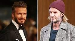 David Beckham se pasa al estilo homeless y sorprende con su look