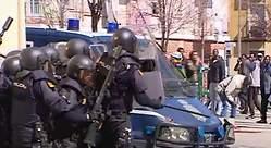Nuevos disturbios en Lavapiés: tres policías heridos