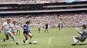 <center>El mítico gol de Maradona del Mundial 86 que inspiró la estrategia del Banco de Inglaterra</center>