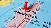 Madagascar en el mapa