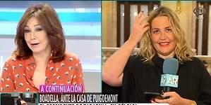 Ana Rosa manda a la peluquería a Mayka Navarro... ¡por si le toca ser President!