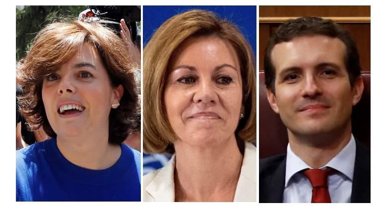 Santamaría y Casado se enredan en un lío de señoras y señores por los votos de Cospedal
