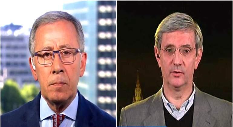 """Patterson, corresponsal de TVE, califica de """"estupidez"""" que el Ente Público cese también a Idígoras"""