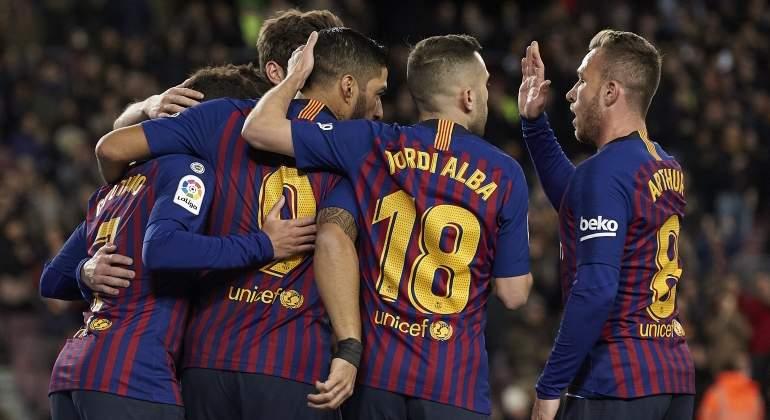 El Barça gana sin brillo al Eibar y cierra la primera vuelta como líder en solitario