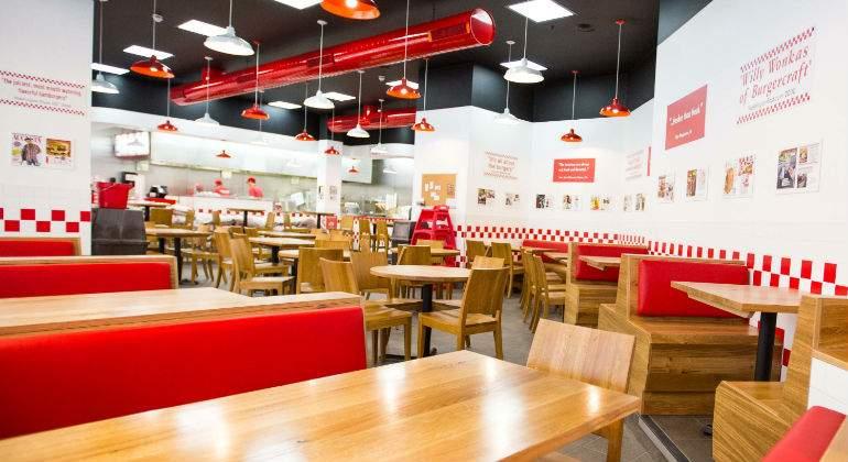 Así es Five Guys: el concepto de \'better burger\' aterriza en ...