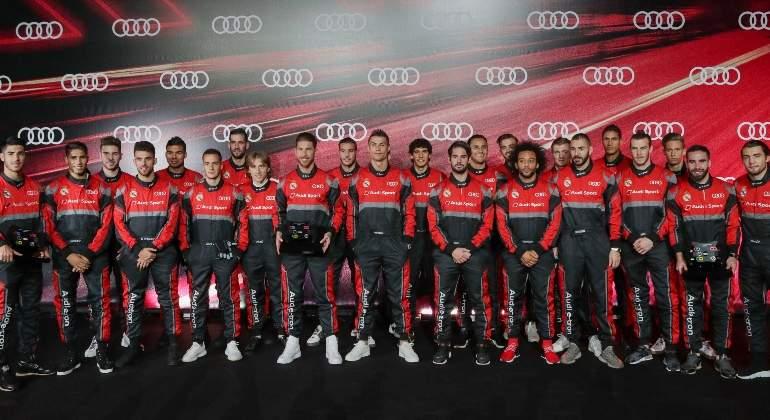 Audi le entregó un auto a cada jugador del Real Madrid