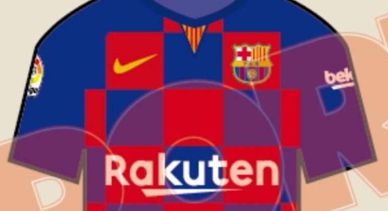 Revolución en la camiseta del Barcelona  Nike cambiará las rayas por los  cuadros por primera vez en su historia bc4c3ffdb5f