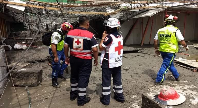 Fallecen Dos Personas Tras Derrumbe De Construcci 243 N En La Delegaci 243 N Miguel Hidalgo