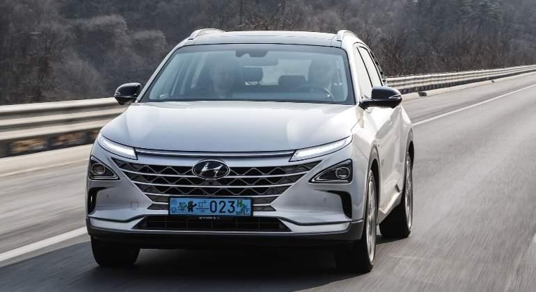 Así circula sin conductor el Hyundai Nexo, el nuevo SUV de hidrógeno