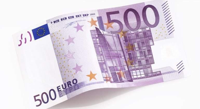 El n mero de billetes de 500 euros se mantiene en niveles for Ecksofa 500 euro