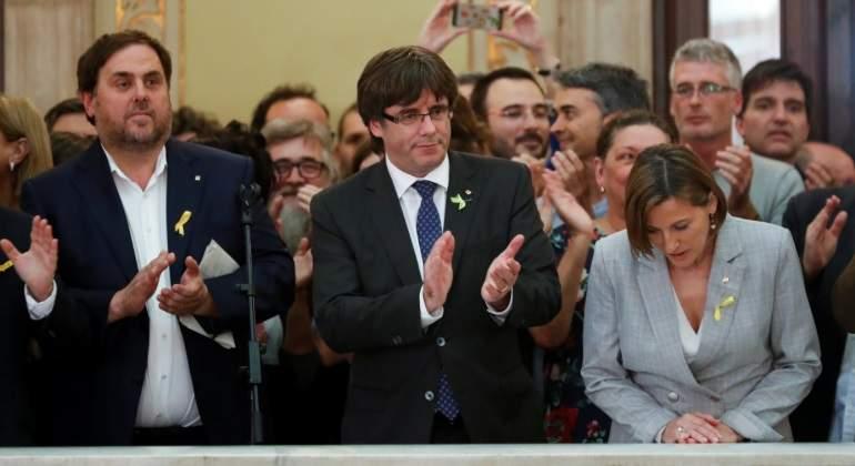 Resultado de imagen de Encancelados el Vicepresidente y varios consejeros de La Generalidad de Cataluña
