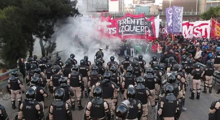 Hubo más de 2.000 cortes por obras y manifestaciones en 2019