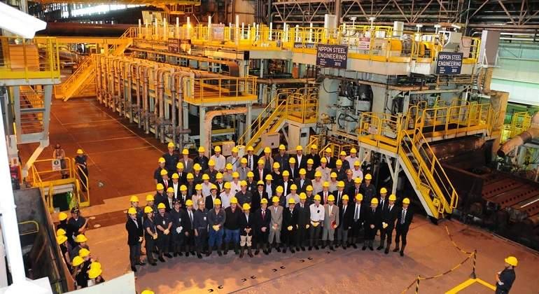 Nippon Steel y Ternium acuerdan solucionar disputa por Usiminas