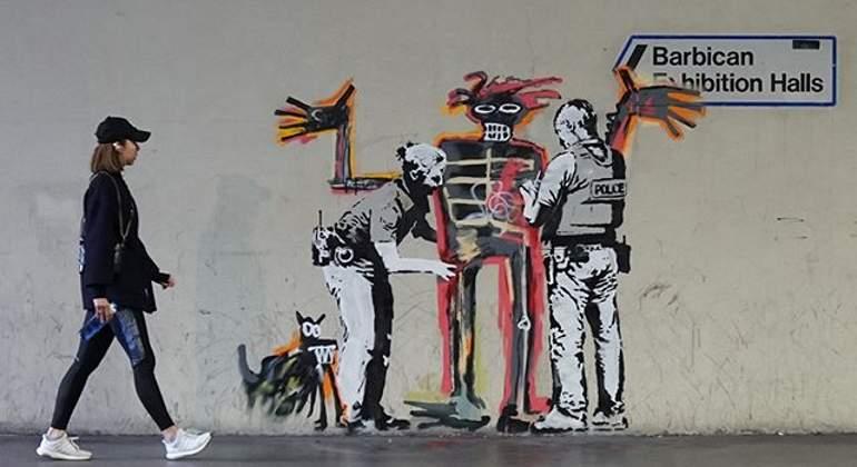 Banksy vuelve a mostrar su arte con dos nuevos murales en Londres