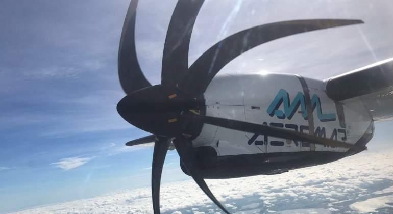 Se incendia motor de aeronave; cubría vuelo CDMX-Monclova