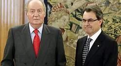 El rey Juan Carlos cree que la crisis de Cataluña es culpa de estos del PP
