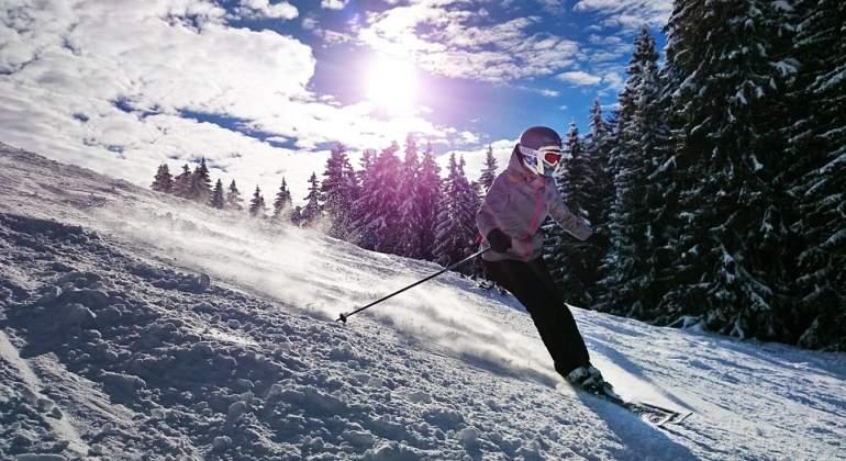 Un tercio de las estaciones de esquí permanecen abiertas
