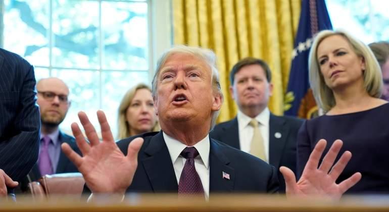 Trump amenaza a los demócratas tras perder el Congreso: Si me investigan, no negociaremos leyes