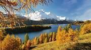 Mapa de los colores del otoño, la mejor ruta para recorrer Suiza