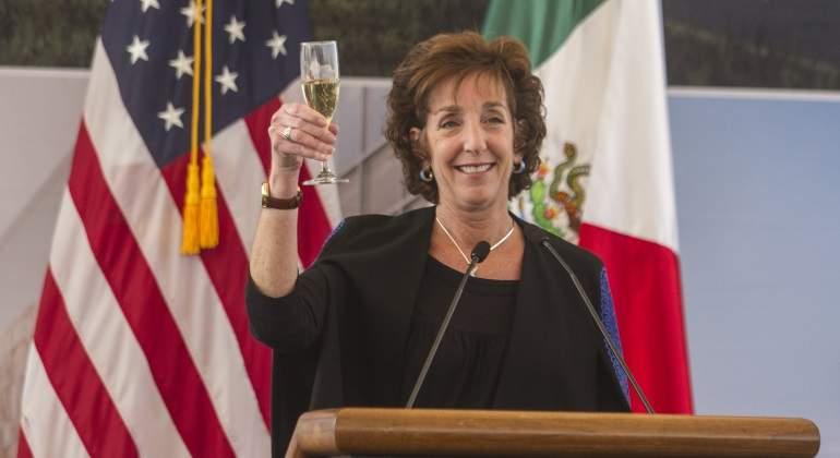 Culmina cargo de Roberta Jacobson, embajadora de EUA en México