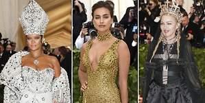 Rihanna, Madonna, Irina... Y la gala MET subió al cielo