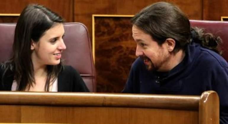 El Congreso de los líos: Pablo Iglesias, Irene Montero y otras ...