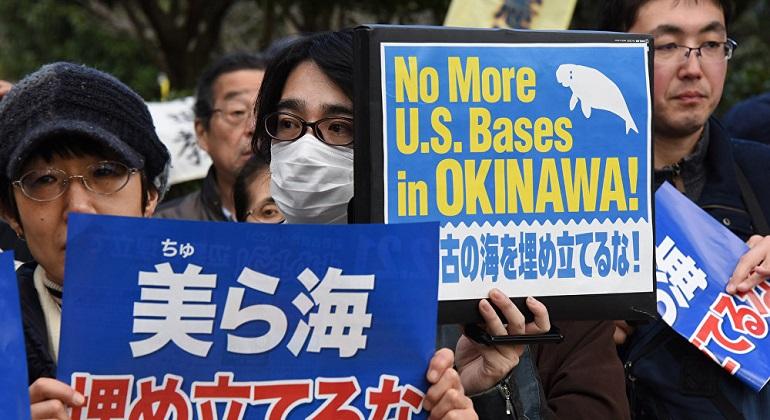 Japón presenta una queja ante Estados Unidos por la muerte de una japonesa en Okinawa
