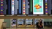 Aena cierra terminales y pistas en Barajas, El Prat y Palma