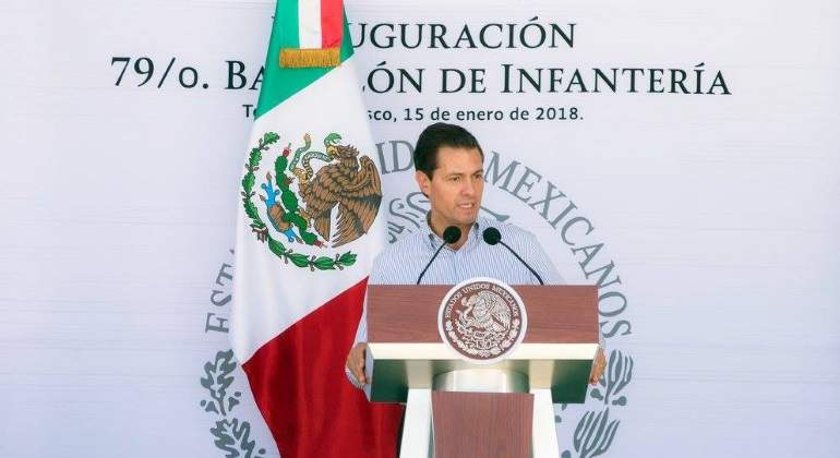 Ni perdón ni olvido para la delincuencia organizada: Peña Nieto